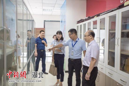宜昌市委组织部常务副部长肖高沛一行调研鑫鼎集团