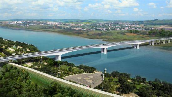 钟祥丰乐汉江公路大桥开工兴建