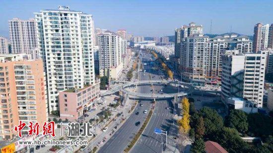 荆门市掇刀区投入资金近24亿元改造城市基础设施