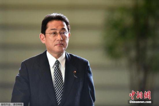 资料图:日本自民党政务调查会长岸田文雄。