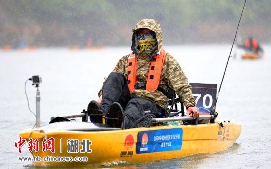 中国舟钓公开赛揭幕战在湖北竹山举行