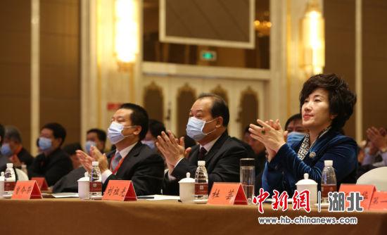 中国(当阳)绿色建材高质量发展论坛现场