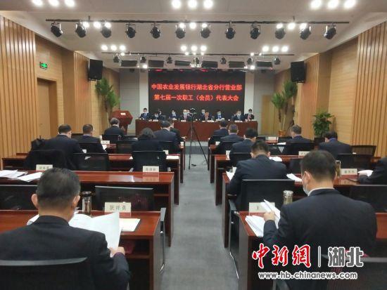 农发行湖北省分行营业部召开第七届一次职代会