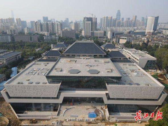 湖北省博物馆。记者李子云 摄