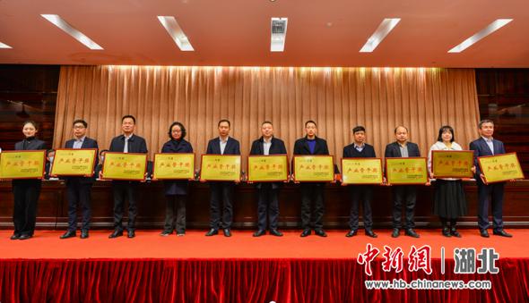 区域经济高质量发展突出贡献单位领奖