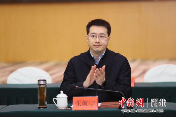 宜昌市委常委、副市长张航宇参加启动仪式 王康荣 摄