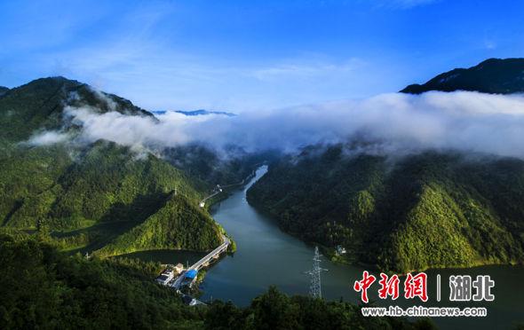清江鸭松溪段(屯堡乡政府供图)