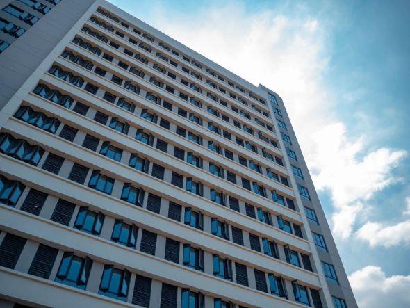 武汉大学新生宿舍外景