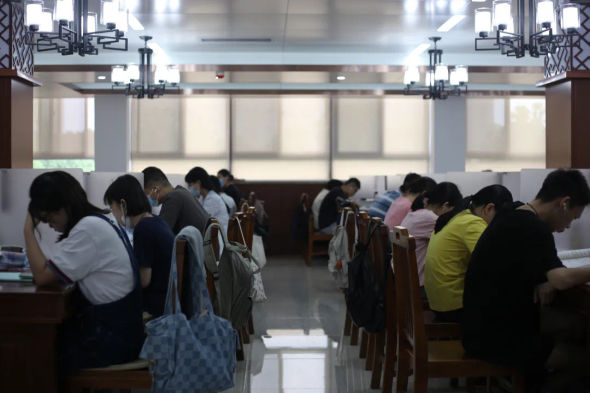 中南民族大学新建图书馆