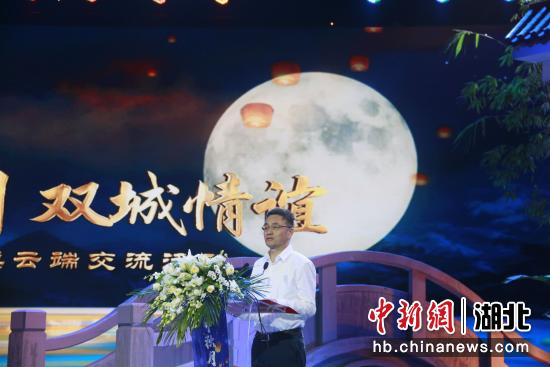 襄阳市长王太晖致辞 张玉柱 摄