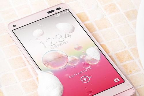 日本 易干/日本现可用洗手液冲洗的智能手机