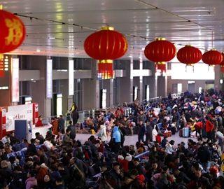 三峡库区春运铁路客流首超百万人次