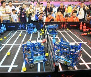 RoboCom青少年挑战赛全国总决赛举行