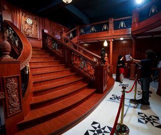 泰坦尼克号文物精品在武汉展出
