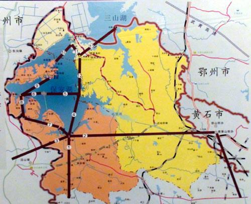 12公里,地处大冶市西北部,毗邻鄂州市和武汉市.