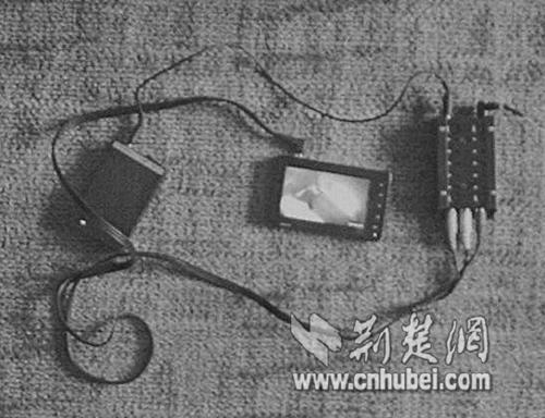 湖北男子宾馆装摄像机偷拍性爱录像敲诈