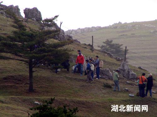 图:《山楂树之恋》在宜昌夷陵区抓紧拍摄
