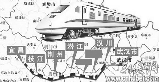 武汉到荆州只需60分钟