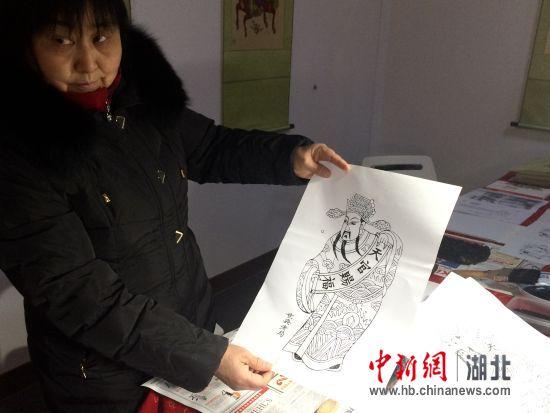 彩票app可信吗:全国精品年画武汉展出_唤醒记忆中的年味