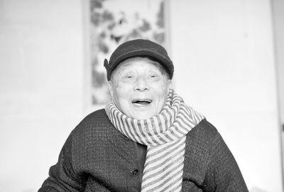 """重庆时时彩官方网站下载:武汉101岁教授长寿""""三宝"""":心态好_吃饭七成饱"""