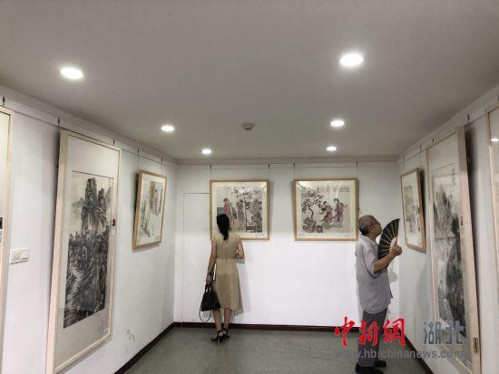 江苏快三推荐和值推荐:湖北省国画院党员画家作品展开幕