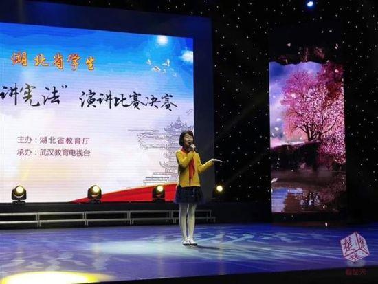 """湖北省唯一初中生代表下月赴京""""讲法"""""""
