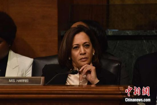 哈里斯就职前辞任参议员,美国将迎首位女性副总统