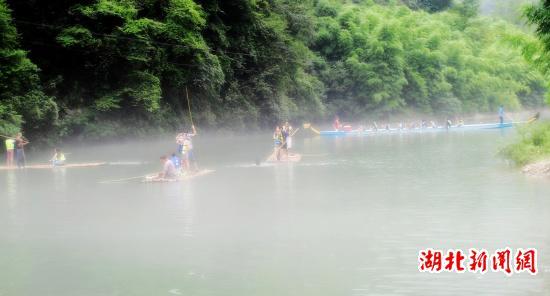 改造后的三峡竹海风景区呈现出八大景观