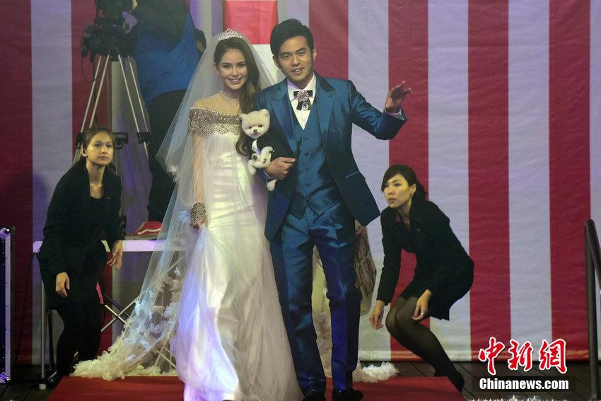 周杰伦花百万台北补办婚宴 图片频道