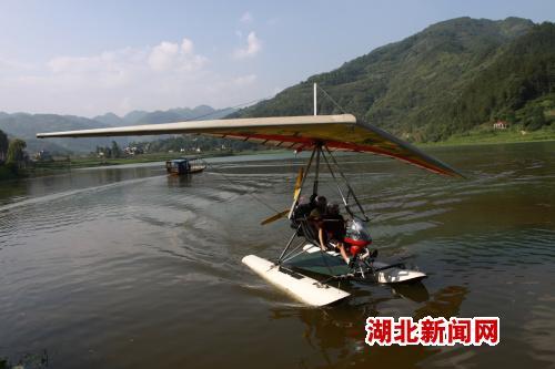 恩施大峡谷拟新增三角翼滑翔机