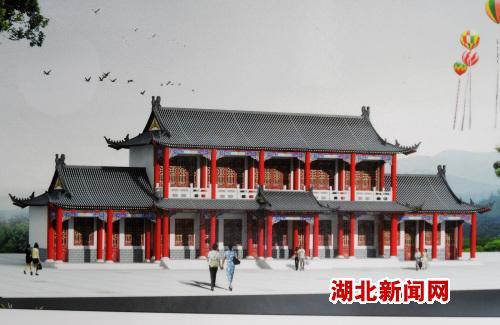 竹山县宝丰镇女娲山风景区再添新景点(图)