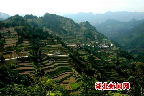 湖北省来凤县大河